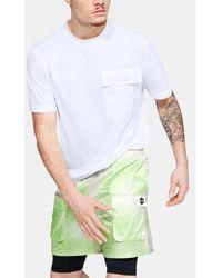 Under Armour Herren UA Always On Pack-It T-Shirt - Weiß
