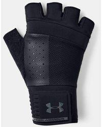Under Armour Herren UA Handschuhe zum Gewichtheben Schwarz MD