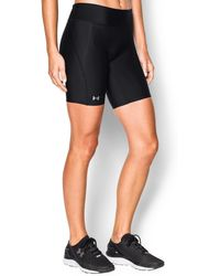"Under Armour - Women's Ua Authentic 7"" Compression Shorts - Lyst"
