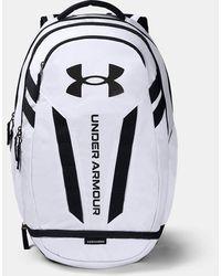 Under Armour Ua Hustle 5.0 Backpack - White
