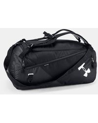 Under Armour Men's Ua Contain 4.0 Backpack Duffle - Black