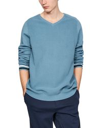 Under Armour Men's Uas V-neck Sweater - Blue