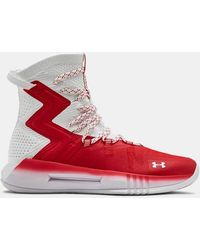 Under Armour Women's Ua Highlight Ace 2.0 Volleyball Shoes - Red