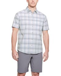 Under Armour - Men's Ua Legacy Woven Short Sleeve Button Down - Lyst