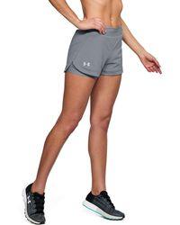 Under Armour - Women's Ua Speedpocket 2-in-1 Short - Lyst