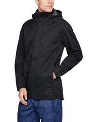 Under Armour Men's Ua Storm Wool Town Coat - Black