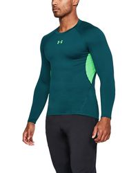 Under Armour | Men's Ua Heatgear® Armour Long Sleeve Compression Shirt | Lyst