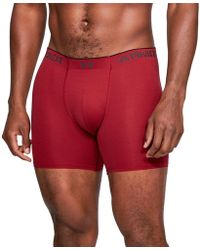 "Under Armour ""armourvent Mesh Series 6"""" Boxerjock"" - Red"