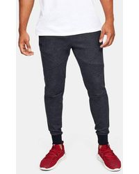 Under Armour Ua Double Knit Heavyweight Sweatpants - Black