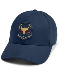 Under Armour Freedom X Project Rock Str Cap - Blue