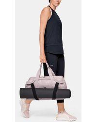 Under Armour Women's Ua Essentials 2.0 Duffle - Pink