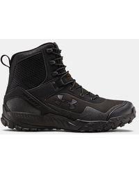 Under Armour Ua Valsetz Rts 1.5 Side Zip Tactical Boots - Black