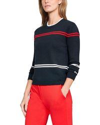 Under Armour - Women's Ua Sportswear Sweater Crew - Lyst