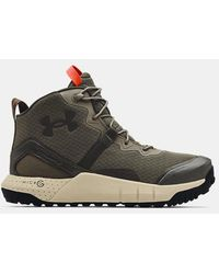 Under Armour Ua Micro G® Valsetz Mid Tactical Boots - Green
