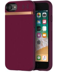 Under Armour Protect Stash Case For Iphone 8/7 - Purple