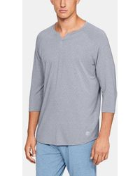 Under Armour - Herren Athlete Recovery SleepwearTM Henley-Shirt - Lyst