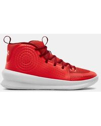Under Armour Ua Jet Basketball Shoes - Red