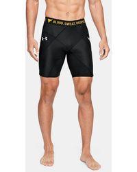 Under Armour Men's Project Rock Compression Shorts - Black