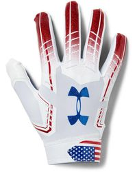 Under Armour F6 Patterned - White