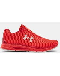 Under Armour Men's Ua Hovr Velociti 3 Running Shoes - Red