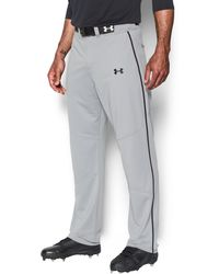 Under Armour - Men's Ua Heater Piped Baseball Pants - Lyst