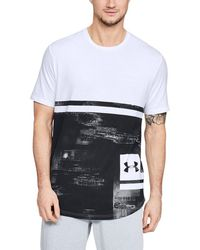 Under Armour Heatgear Sportstyle Loose Charged Cotton Short-sleeve Print Tee