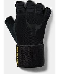 Under Armour Men's Project Rock Training Glove - Black