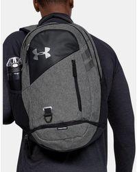 Under Armour Ua Hustle 4.0 Backpack - Black