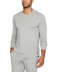 Under Armour - Men's Athlete Recovery Sleepwear Long Sleeve - Lyst