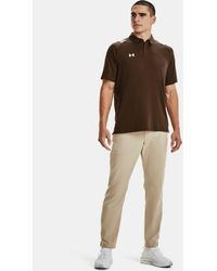 Under Armour Men's Ua Iso-chill Polo - Brown