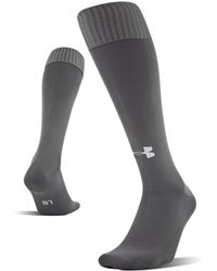 Under Armour Soccer Solid Over-the-calf Socks - Grey