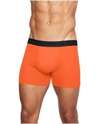 "Under Armour Men's Ua Microthread 6"" Boxerjock® - Orange"