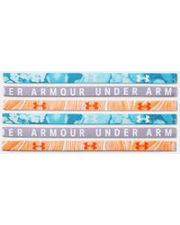 Under Armour Women's Ua Graphic Mini Headbands - 6-pack - Blue