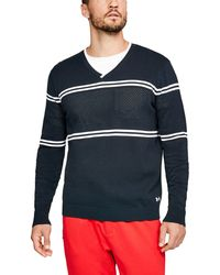 Under Armour - Men's Ua Sportswear V-neck Sweater - Lyst