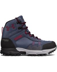 Under Armour - Women's Ua Post Canyon Mid Waterproof Hiking Boots - Lyst