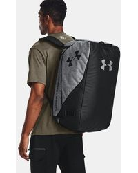 Under Armour Ua Contain Duo Md Backpack Duffle - Grey