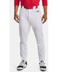 Under Armour Ua Gameday Vanish Baseball Pants - White