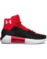 d2399249ee3 Under Armour - Men s Ua Team Drive 4 Basketball Shoes - Lyst