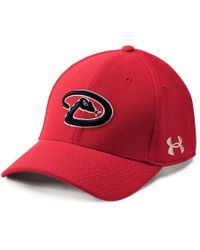 Under Armour Mlb Adjustable Blitzing Cap - Red