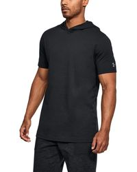 Under Armour | Men's Ua Baseline Short Sleeve Hooded Tee | Lyst