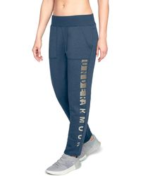 Under Armour - Women's Ua Rival Fleece Pants - Lyst