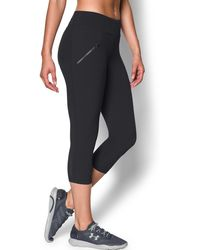 Under Armour | Women's Ua Stunner Stretch Woven Capri | Lyst