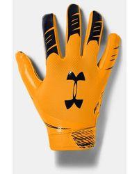 Under Armour Men's Ua F7 Football Gloves - Yellow