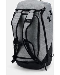Under Armour Ua Contain 4.0 Backpack Duffle - Gray