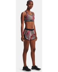 Under Armour UA Fly-By 2.0 Chroma Shorts Rosa LG - Pink