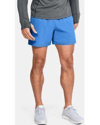 "Under Armour Men's Ua Speedpocket 5"" Shorts - Blue"