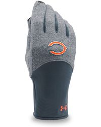 Under Armour - Women's Nfl Combine Authentic Ua Coldgear® Infrared Fleece Gloves - Lyst