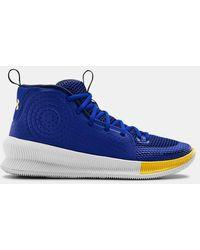 Under Armour Ua Jet Basketball Shoes - Blue