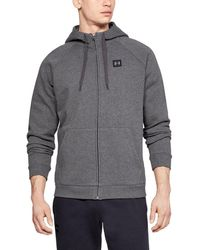 Under Armour Rival Fleece Hoodie - Gray