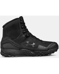 Under Armour Valsetz Rts 1.5 Low Rise Hiking Boots - Black
